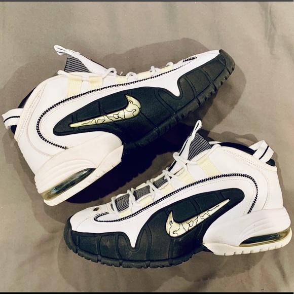 curso Accor Política  Nike Shoes | Nike Air Max Penny White Silver 205 | Poshmark